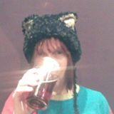 Sue in cat hat