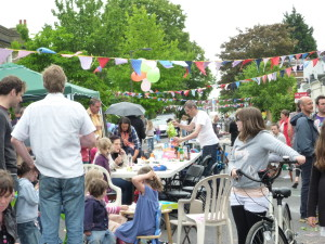 Crystal Palace Road Street party